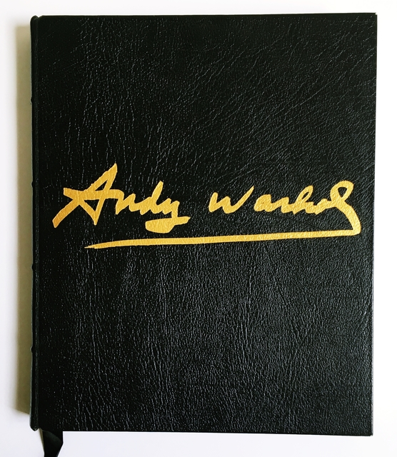 Andy Warhol, 'Collectors' Edition of Exposures: Deluxe Limited Edition (only 200 signed) 1st Edition black leather, gilt edges, signed hardback monograph, Hand signed and numbered by Andy Warhol', 1979, Alpha 137 Gallery