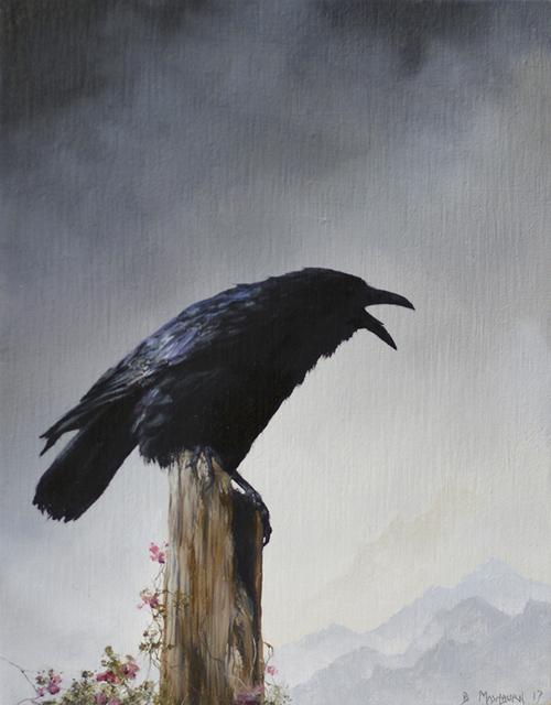 , 'Crow III,' 2017, Haven Gallery