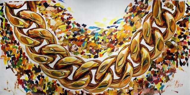 , 'Gold,' 2017, Gallery at Zhou B Art Center