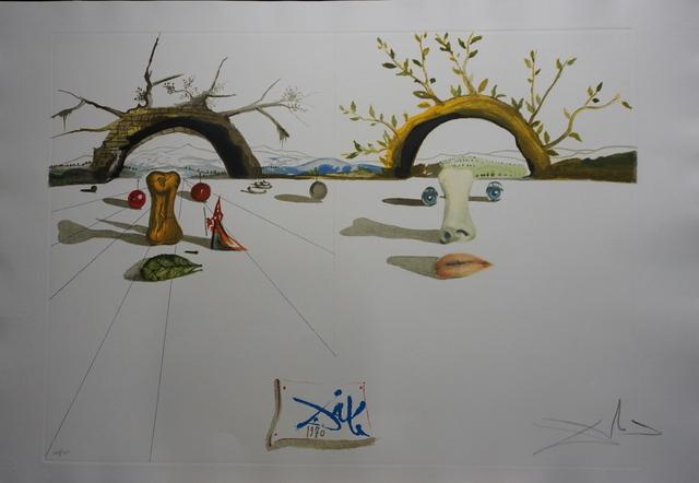 Salvador Dalí, 'Winter Summer', 1973, Print, Etching, Fine Art Acquisitions Dali