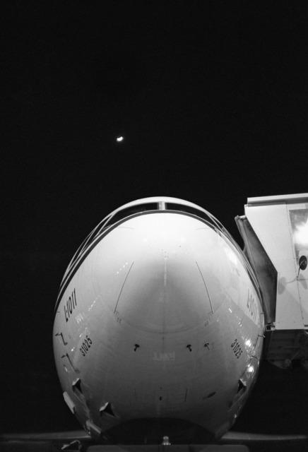 , 'Moonrise Over Lockheed - JFK,' 1982  (printed 2013) , Jane Lombard Gallery
