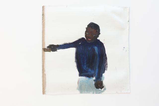 , 'Douma le bras levé,' 2017, Eric Dupont