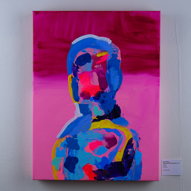 , 'Concussion Self Portrait ,' 2018, EWKUKS