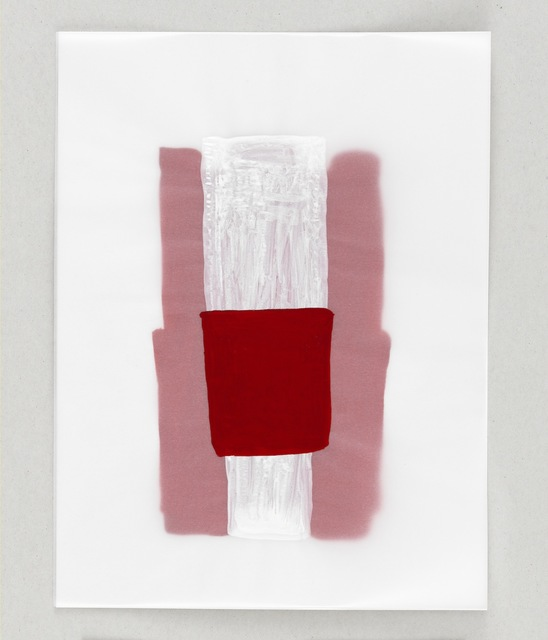 , 'Red Thought,' 2014, Anne Mosseri-Marlio Galerie