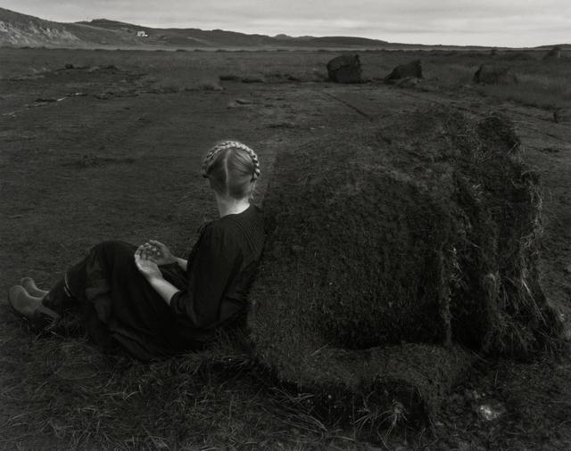 , 'Steinunn with Turf Rolls, Kleppjárnsstaðir, Iceland,' 2015, Vision Neil Folberg Gallery
