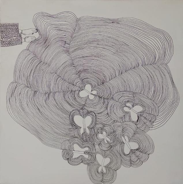 , 'Hissa and the Butterfly 3,' 2018, al markhiya gallery