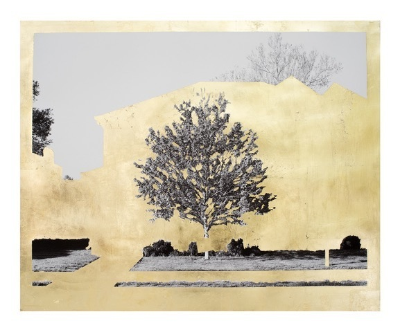 , 'Gold Leaf Tree No. 004,' 2018, Kala Art Institute