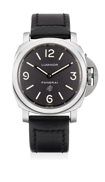 Panerai, 'A rare limited edition stainless steel wristwatch with additional rubber strap, numbered 83 of a limited edition of 500 pieces', Circa 2010, Phillips