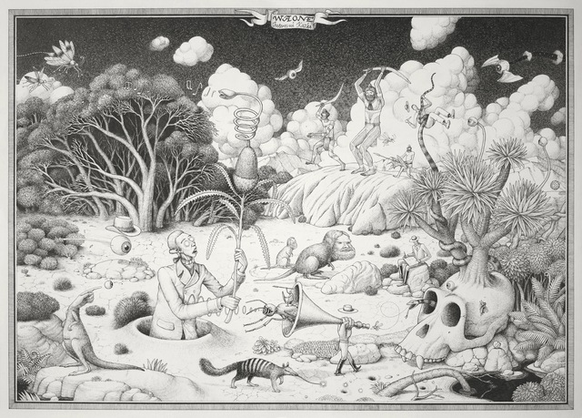 , 'The Great Naturalist,' 2015, Jonathan LeVine Projects