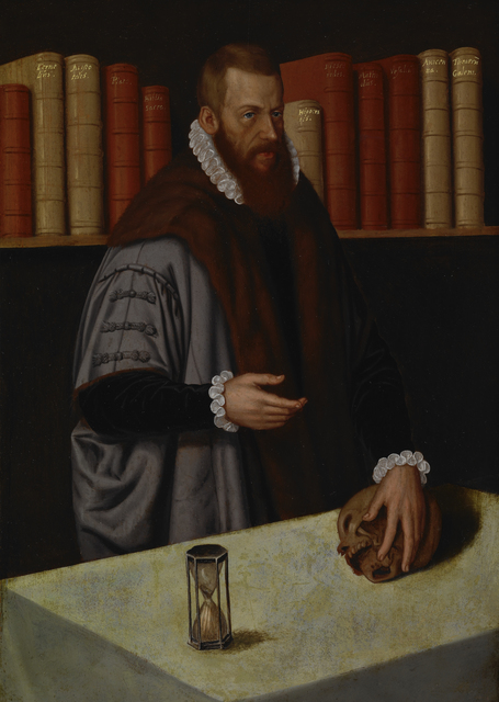 Ludger Tom Ring, The Younger, 'Portrait of a Doctor', ca. 1572, Indianapolis Museum of Art at Newfields