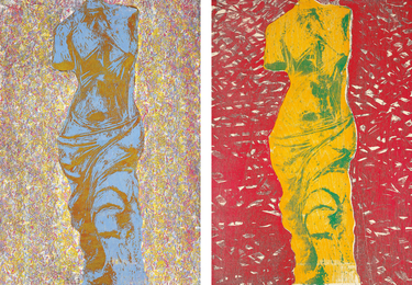 Jim Dine, 'Nine Views of Winter 6; and Nine Views of Winter 9,' 1985, Phillips: Evening and Day Editions