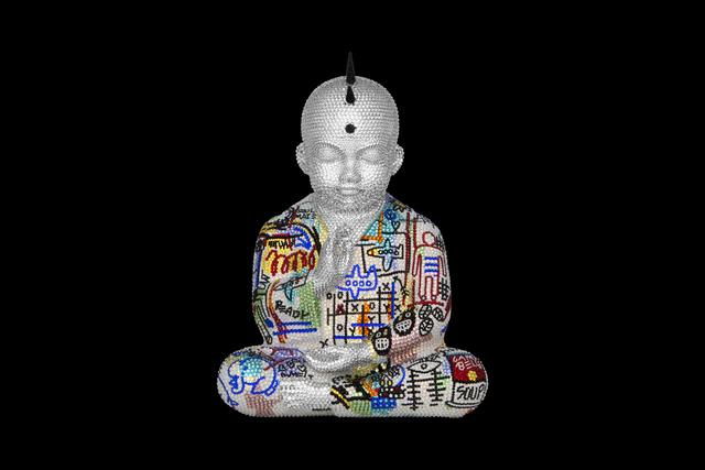 , 'Punk Buddha Soulmates III feat. Basquiat,' ca. 2019, Samuel Lynne Galleries