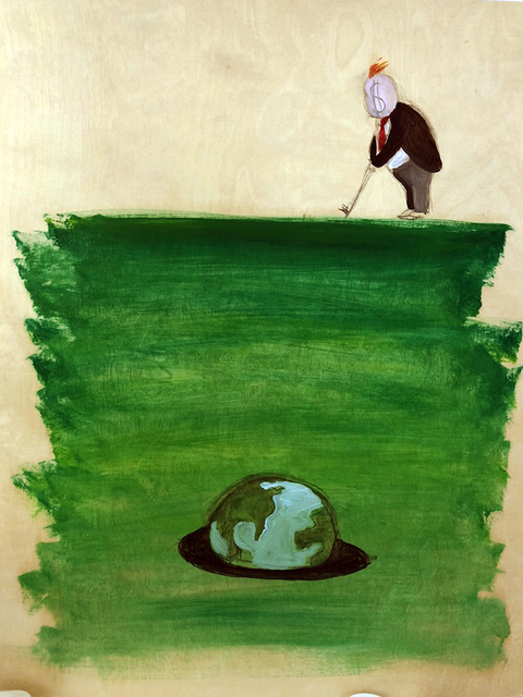 , 'Trumpito (Golf World),' , Pan American Art Projects