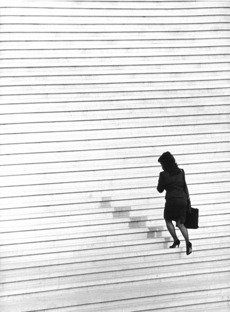 , 'Paris. La Defense, Treppe zu Grand Arche II,' 1994, Fils Fine Arts