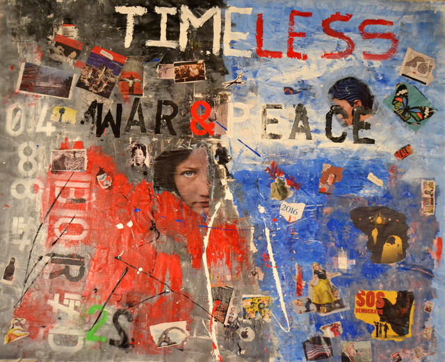 , 'War and Peace, Timeless Collection,' 2016, Galerie The Artist