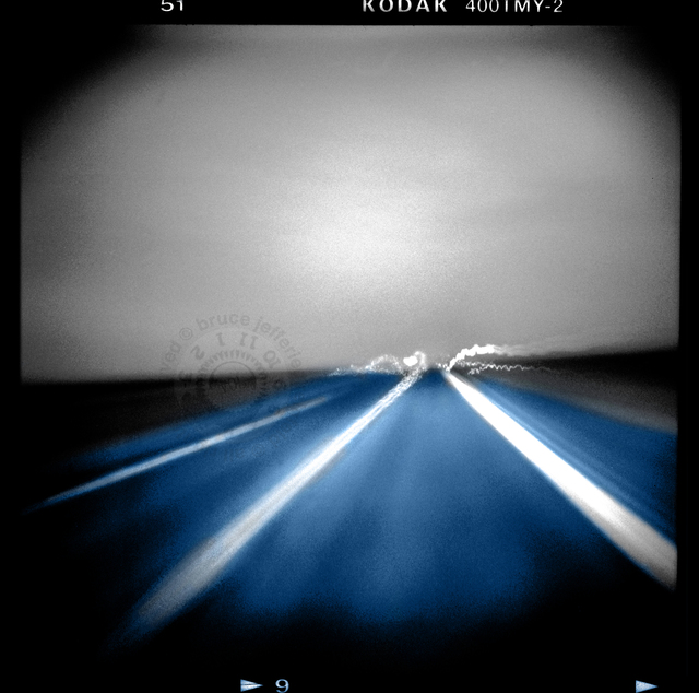 , 'night road,' 2011, Analog Project Gallery