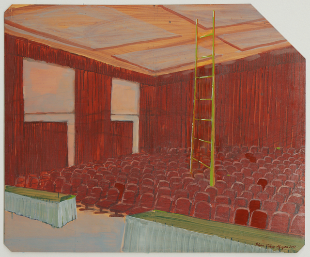 , 'The Conference Room 會議室,' 2017, Edouard Malingue Gallery