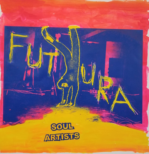 , 'Soul Artists (Futura) red,' 2018, Gastman