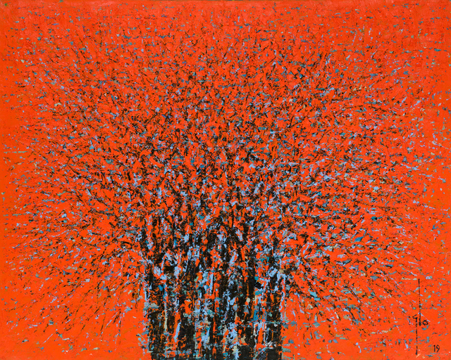 , 'Red Forest II,' 2019, October Gallery