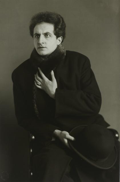 , 'DerTenor(LeonardoAramesco),' ca. 1928, Galerie Julian Sander