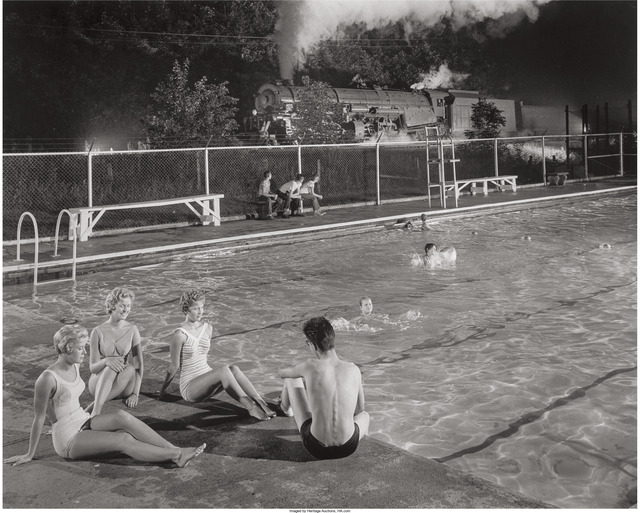 O. Winston Link, 'Swimming Pool, Welsh, West Virginia', 1958, Heritage Auctions