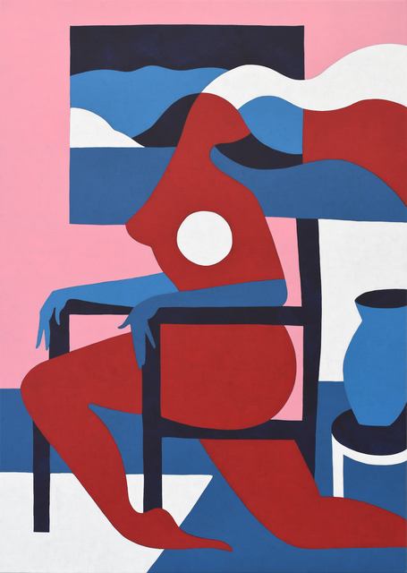 , 'Moving Chair,' 2017, Joshua Liner Gallery