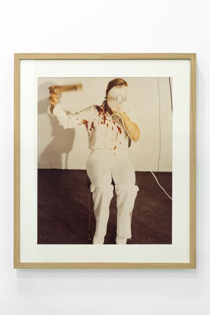 , 'Moment de l'action mélancolique 2 x 2 x 2, Naples,' 1974, Richard Saltoun