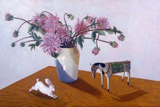 , 'Dahlia's Dilemma,' , Denise Bibro Fine Art