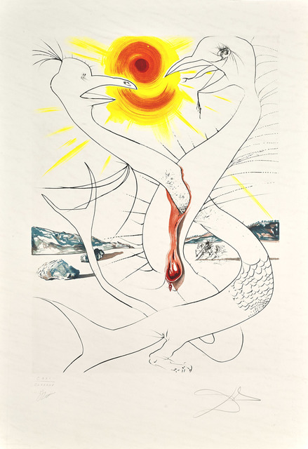 , 'The Caduseus of Mars Nourished by Jupiter's Ball of Fire (The Conquest of Cosmos),' 1974, Martin Lawrence Galleries