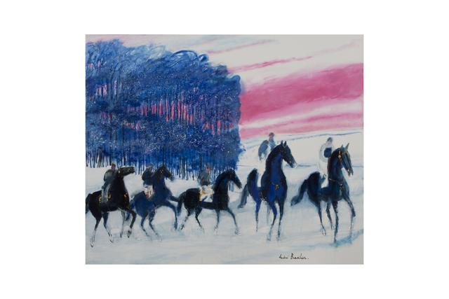 , 'L'Hiver au ciel rose,' 2017, Opera Gallery