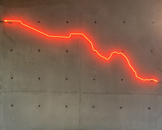 , 'Broken Line,' 2019, Gallery Wendi Norris