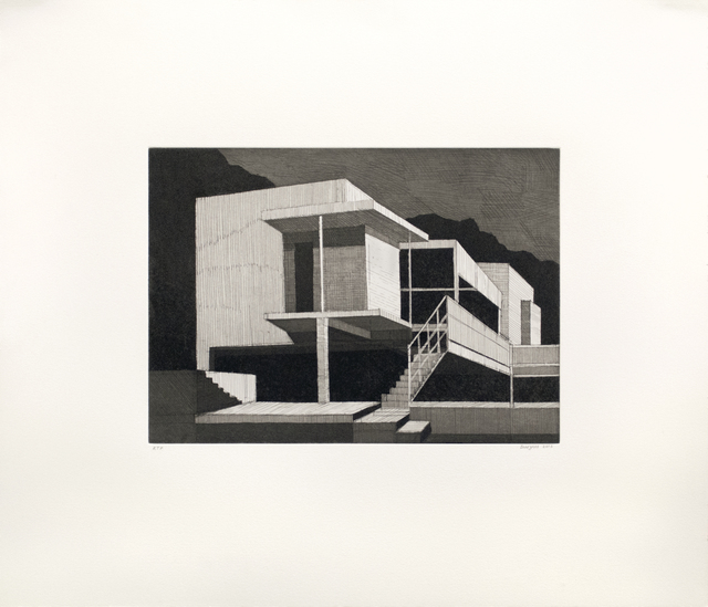 , 'Eileen Gray's E-1027 House,' 2016, Tandem Press