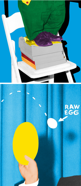 John Baldessari, 'Hand and/or Feet: Chair and Books/Plate and Egg', 2010, Kenneth A. Friedman & Co.