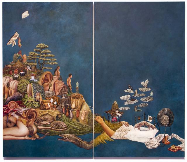 , 'New Habitat-Mountain,' 2016, Childs Gallery