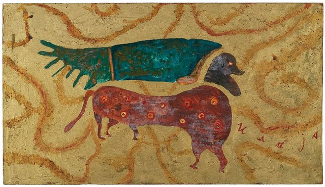 , 'From the Apocalypse: Animal with Human Head,' 1965, Cavin Morris Gallery