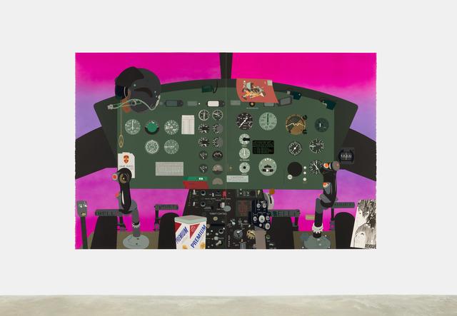 , 'Concerning Vietnam: Bell UH-1D Iroquois, Cockpit (II),' 2018, Casey Kaplan