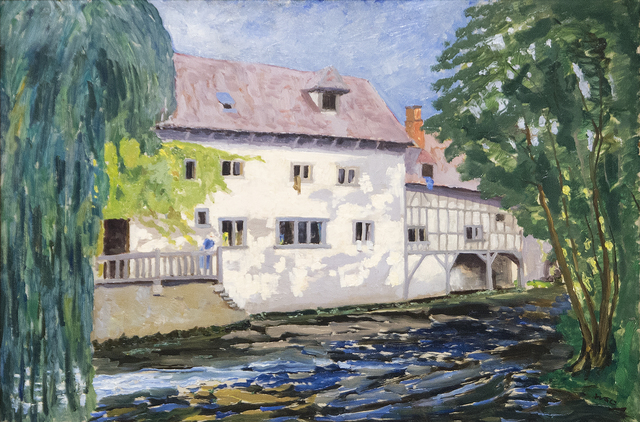 , 'The Mill at St.-Georges-Motel,' ca. 1930, Heather James Fine Art