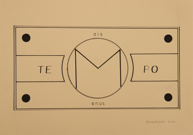 , 'No Title, Visual Poem,' 1974, Roberto Alban Galeria de Arte