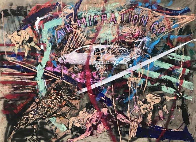 , 'Air Migration Privé,' 2019, MOVART
