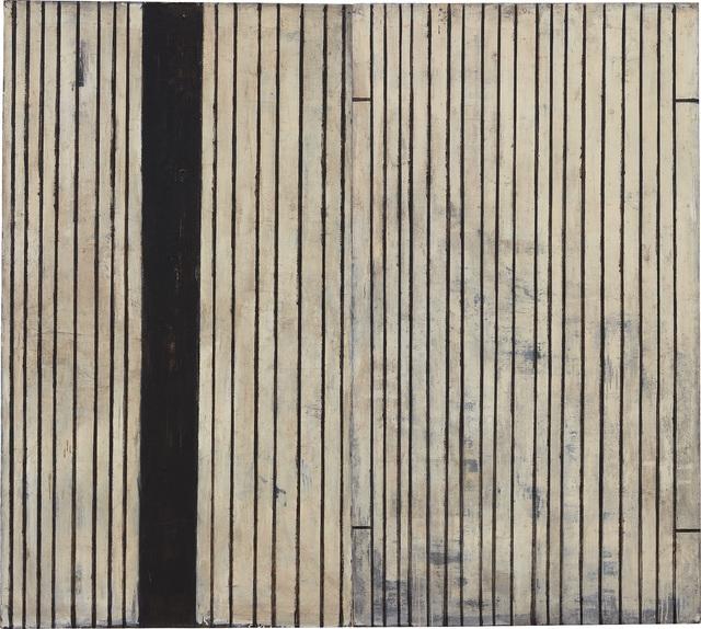 Piero Pizzi Cannella, 'Nero, Ferro, Battuto; Sottile, Ferro, Battuto (Diptych)', 1988, Phillips