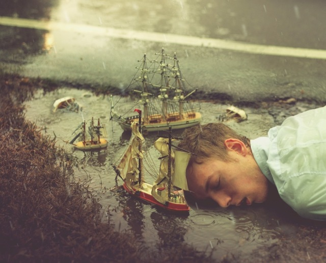 , 'Sinking Captain,' 2012, Opiom Gallery