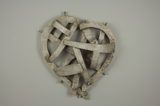 , 'White Heart,' 2015, Sue Greenwood Fine Art