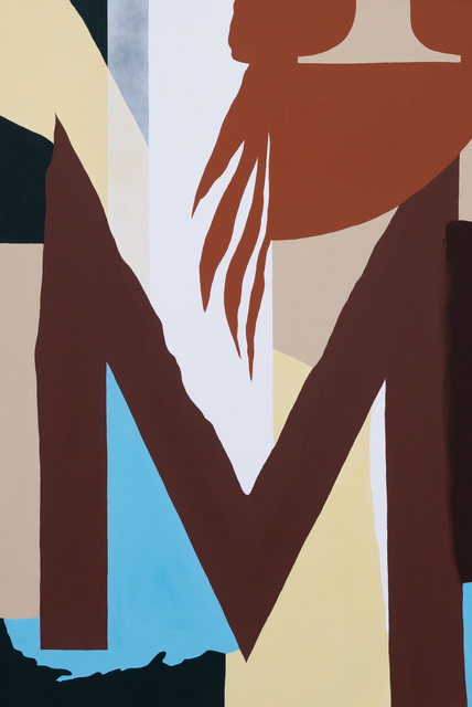 , 'M,' 2019, Ground Effect Gallery