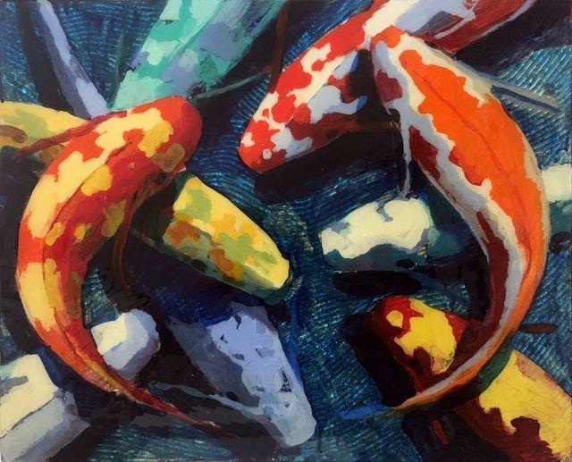 Frank Hyder, 'Blue Harmony', 2019, Ode to Art