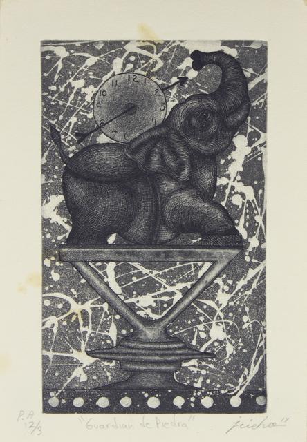 Isidro Fabián, 'Guardián de Piedra', Bernardini Art Gallery & Auction House
