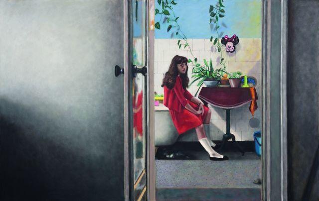 , 'Ciemne miejsce za drzwiami / Dark Place behind the Door,' 2014, Monopol