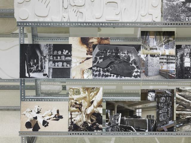 Mariana Castillo Deball, 'Stelae Storage (detail)', 2013, Guggenheim Museum