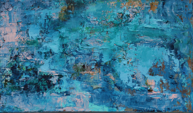 , 'Music of Water,' 2019, LeMieux Galleries