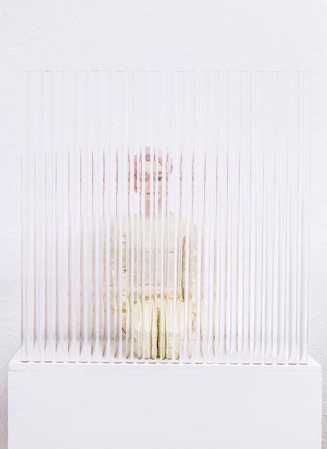 Hirofumi Fujiwara, 'utopian (rot hair)', 2020, Sculpture, Plastic, acrylic glass, galerie burster