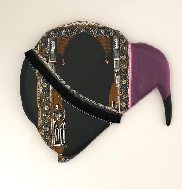, 'Seat 25 Purple and Black,' 2019, Jenkins Johnson Gallery
